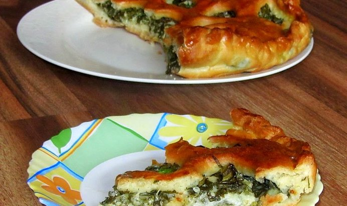 пироги с моцареллой фото