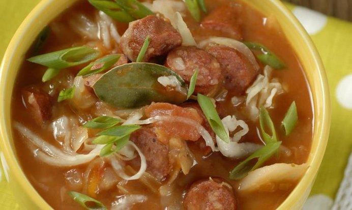 Суп с капустой рецепт пошагово 6