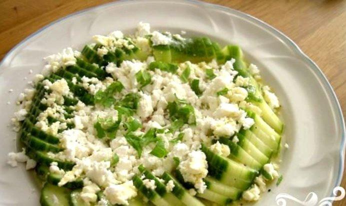 Рецепт салата с сыром фета и пекинской капустой рецепт