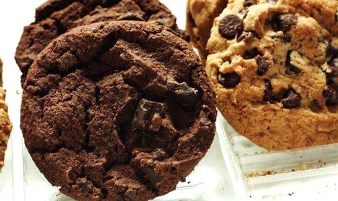 Печенье с шоколадом рецепт с фото