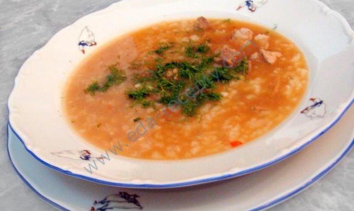 Суп из свинины пошаговый рецепт с