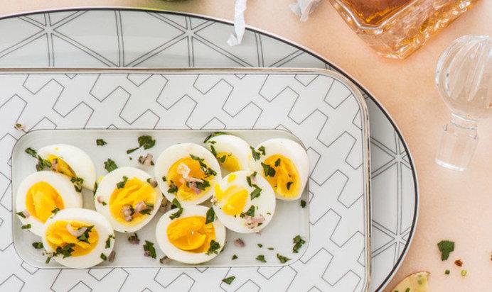 Рецепты пошагово с закусок из яиц