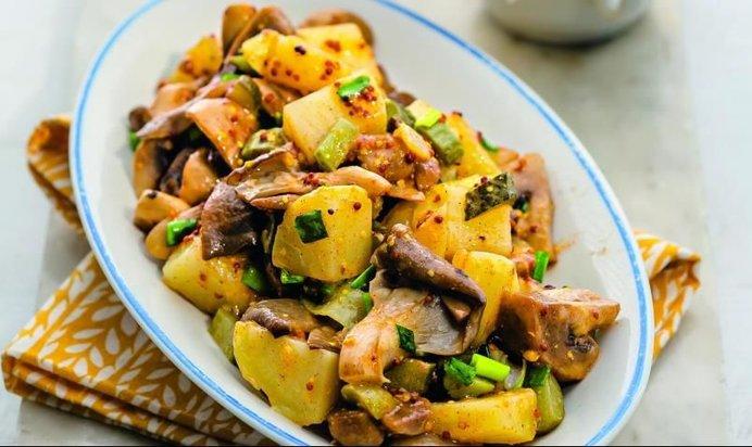 Рецепты постных салатов с фото