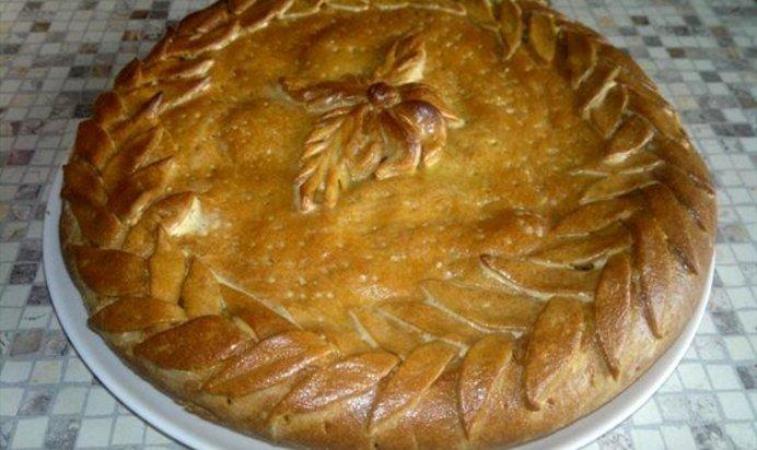 Рецепт пирога с капустой с дрожжевым тестом