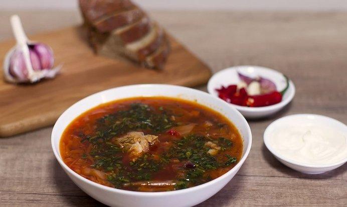 Вкусный суп со свининой рецепт с фото