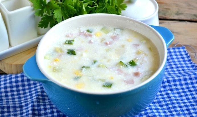 суп кефире рецепт фото