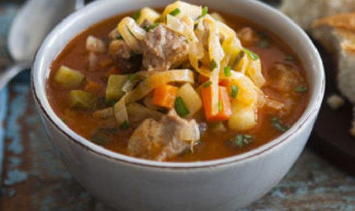 Овощной суп в мультиварке рецепт фото