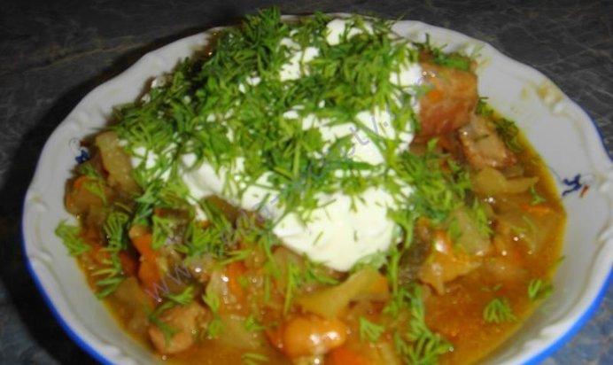Как приготовить овощное рагу с мясом рецепт с пошагово