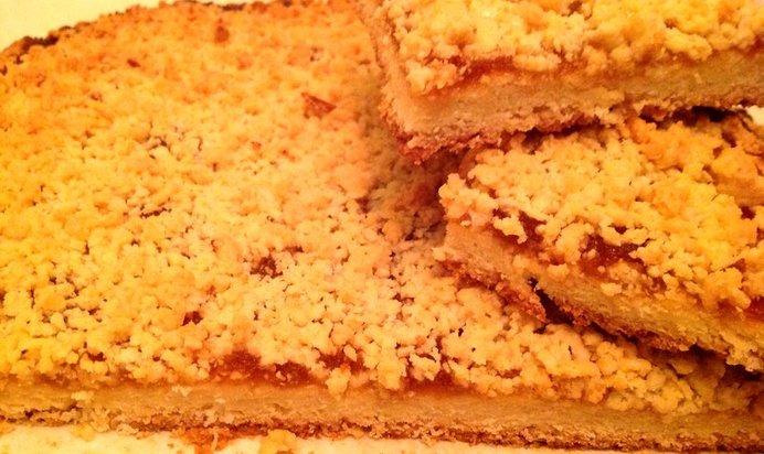 Рецепт тертого пирога с вареньем пошагово с