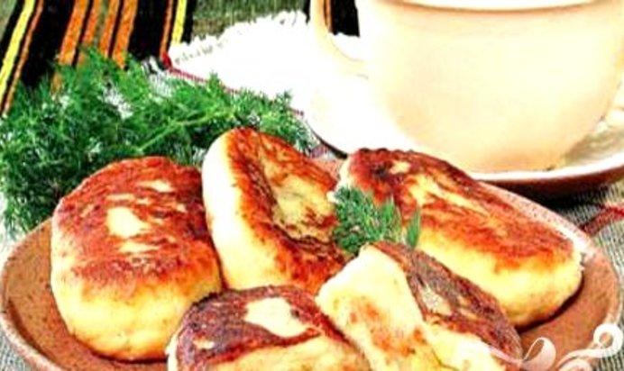 Картофельные пирожки с капустой пошаговый рецепт