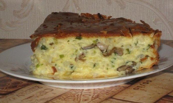 Как приготовить заливной пирог с капустой в духовке пошаговый рецепт