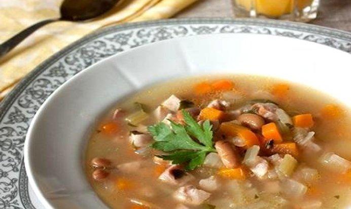 Суп с фасолью консервированной пошаговый рецепт с