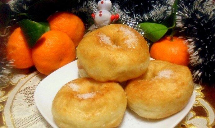 Дрожжевые пончики рецепт с фото