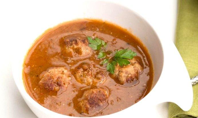 Тефтелевый суп рецепт пошаговый с