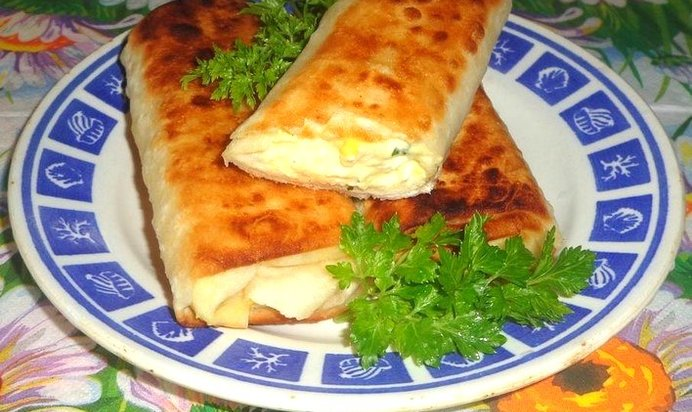 Блюда из лаваша рецепты с фото пошагово