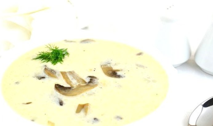 Суп пюре с грибами и картофелем и сливками рецепт с пошагово