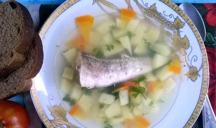 Рыбный суп с манкой рецепт