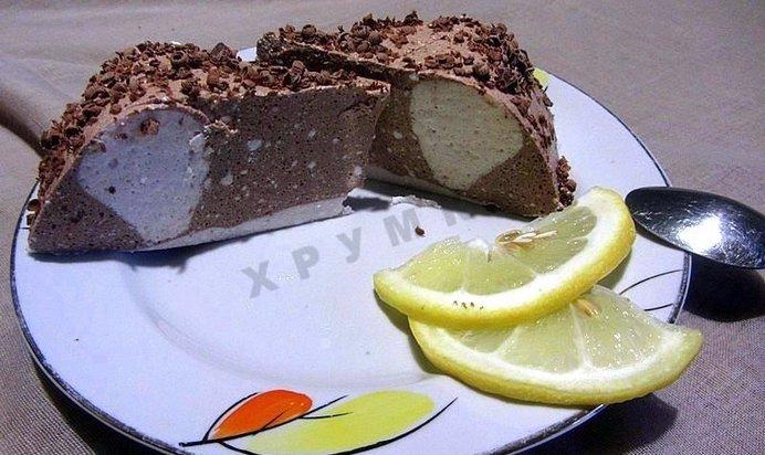 Простой творожный десерт