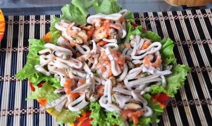 морепродукты рецепты приготовления с фото