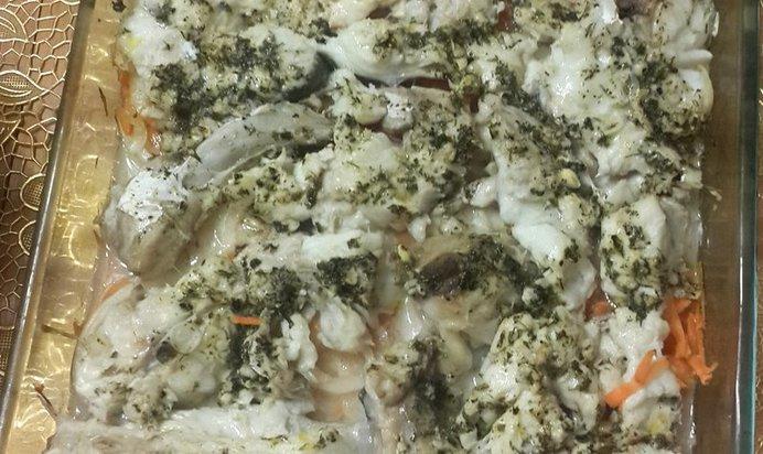 Треска с овощами рецепт пошагово
