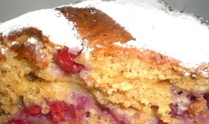 Диетический пирог с ягодами рецепт пошагово в духовке