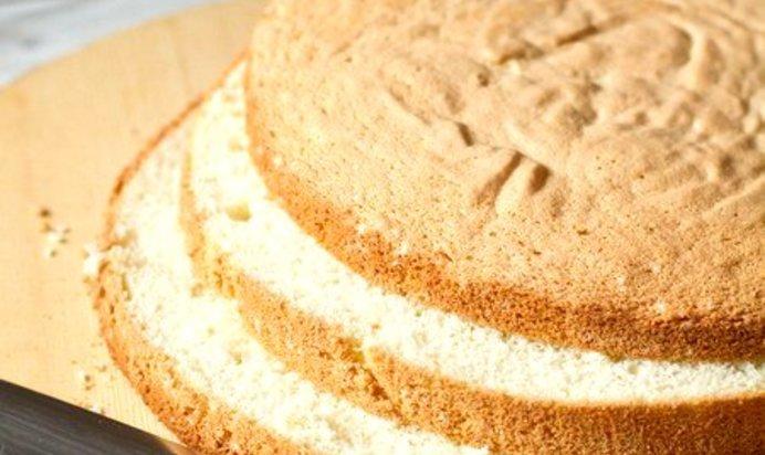 Как испечь ванильный бисквит