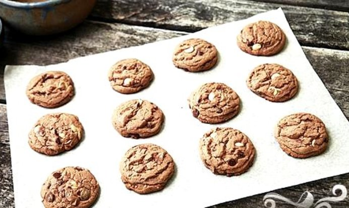 Шоколадное печенье  рецепты с фото на Поварру 55