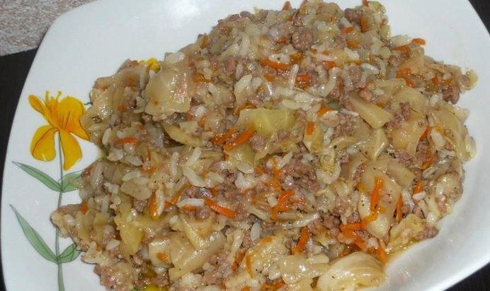 Вкусные ленивые голубцы рецепт с фото пошагово
