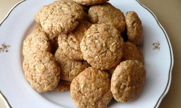 Печенье из гречневых хлопьев рецепт пошагово