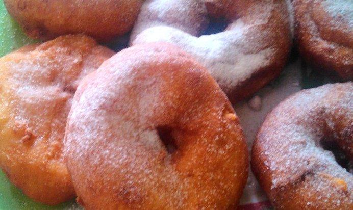 Испечь пончики пошаговое 123