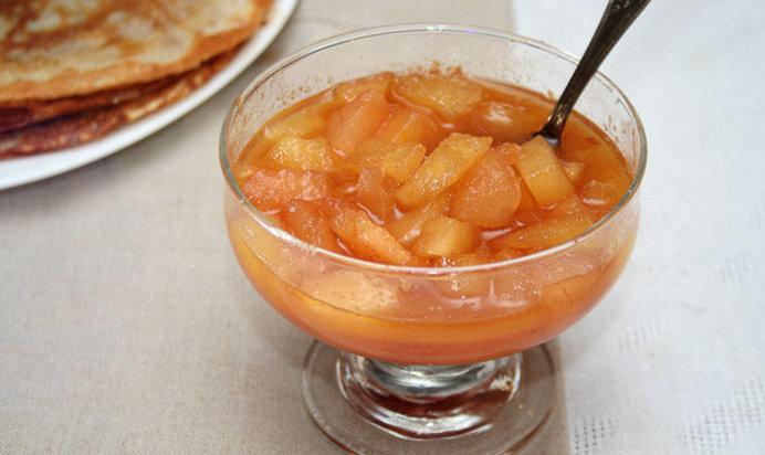 Яблочный соус к курице рецепт с пошагово