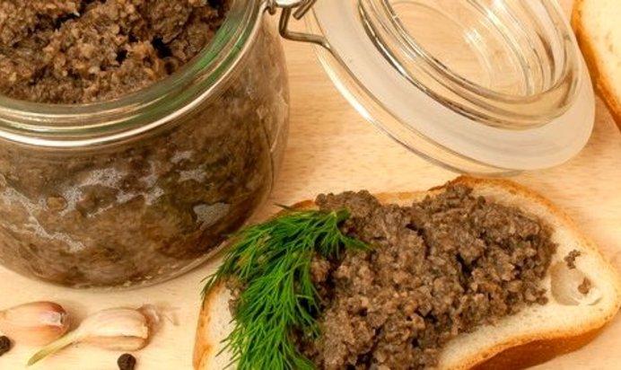 Грибная икра рецепт на зиму пошаговое