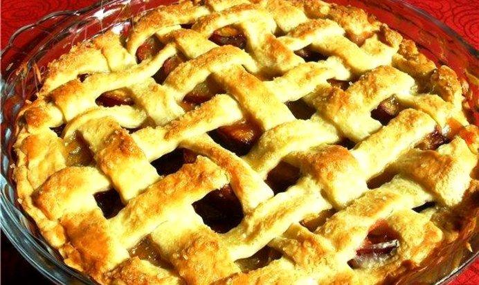 Простые рецепты пирога со сливами с