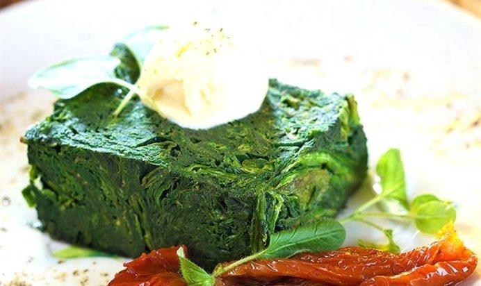 шпинат со сливками рецепты фото