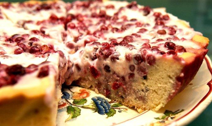 Такая ягода брусника рассмотрите простой рецепт приготовить торт брусникой фотографиями