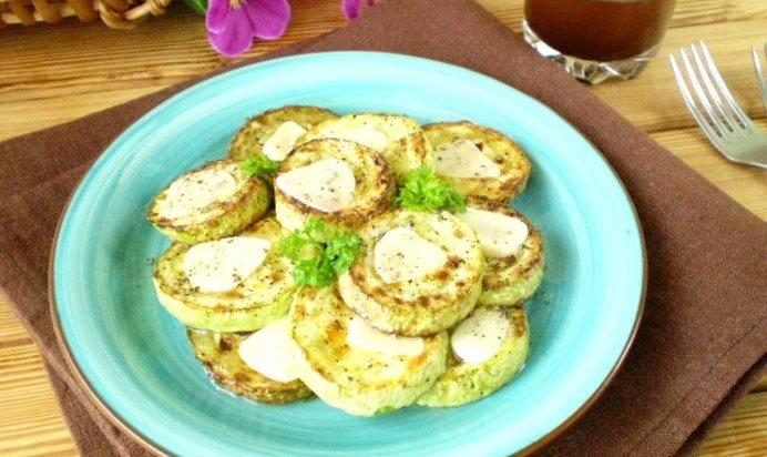 кабачки с чесноком пошаговый рецепт с фото