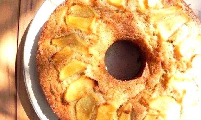 Банановый пирог в духовке рецепт с пошагово простой
