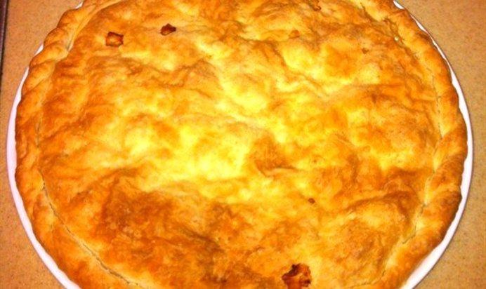 Куриный пирог рецепт пошаговый фото