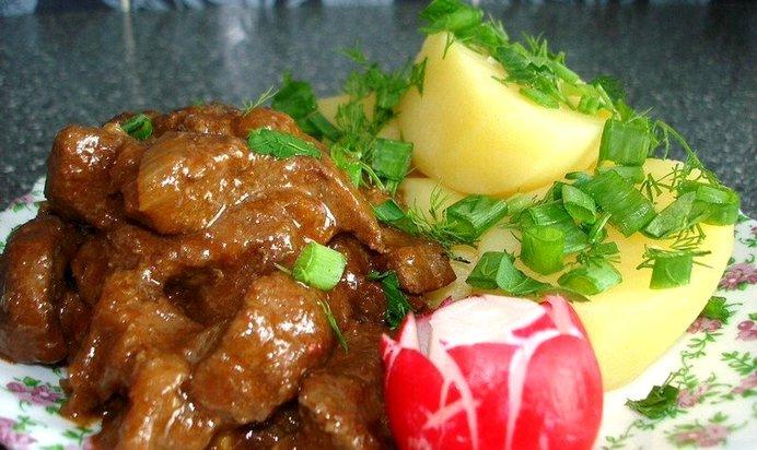 Легкие говяжьи рецепт пошагово
