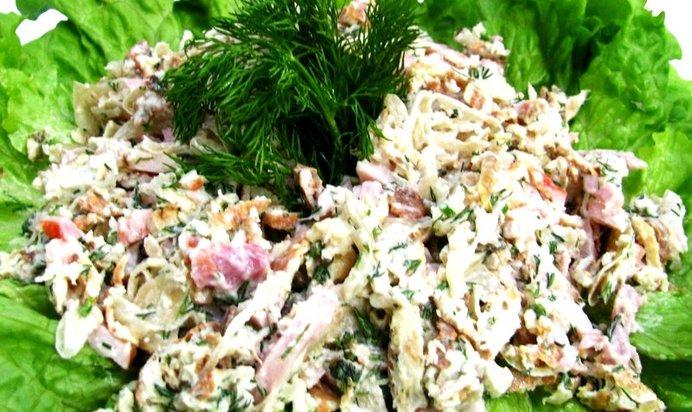 Рецепт салат министерский пошагово