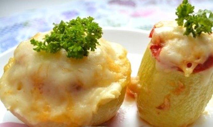 Рецепт кабачков с сыром в микроволновке