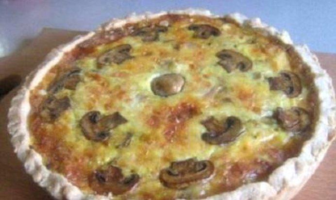 Киш с курицей и грибами рецепт пошагово в духовке