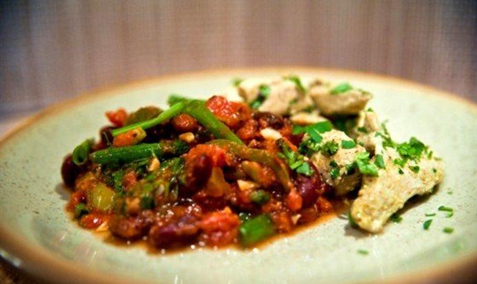 Лобио с мясом рецепт с фото пошагово