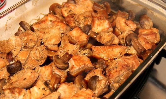 Филе индейки в духовке время приготовления