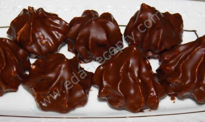 Рецепт зефира в шоколаде в домашних условиях с фото