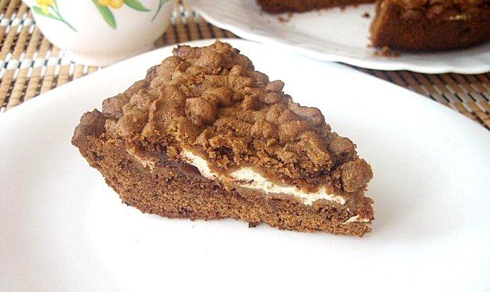 Простой кофейный пирог рецепт с фото