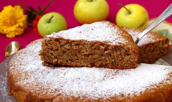 Рецепт пирога с орехами с пошагово