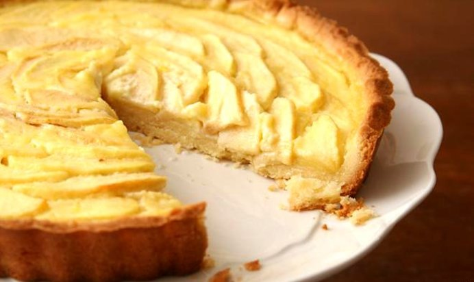 Французский яблочный пирог рецепт с фото