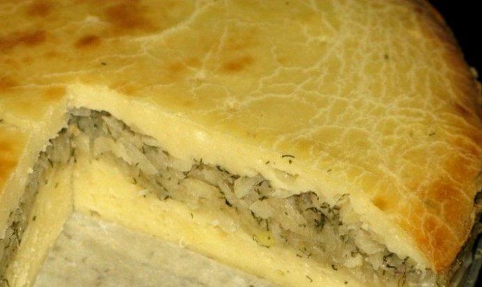 Картофельный пирог пошаговый рецепт с