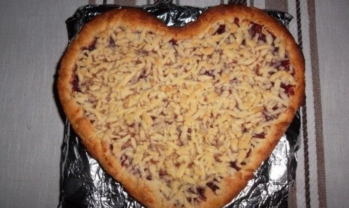 Тертый пирог с джемом рецепт с